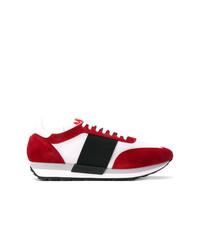 Tenis rojos de Moncler