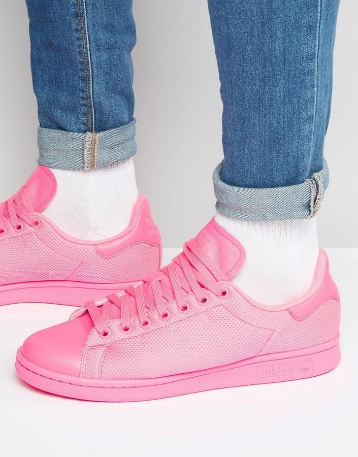 tenis adidas rosas