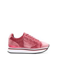 Tenis rosa de Emporio Armani