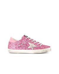 Tenis rosados de Golden Goose Deluxe Brand