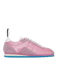Tenis rosados de MM6 MAISON MARGIELA