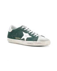 Tenis verde oscuro de Golden Goose Deluxe Brand