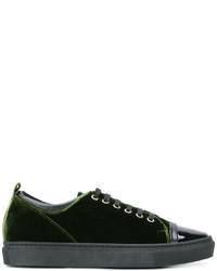 Tenis verde oscuro de Lanvin