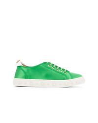 Tenis verdes de Aquazzura