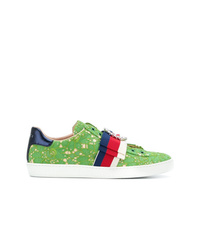 Tenis verdes de Gucci