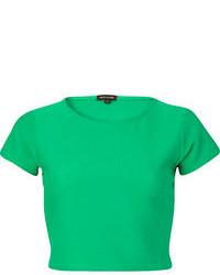 Top corto verde