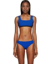 Top de Bikini Azul de Alexander Wang