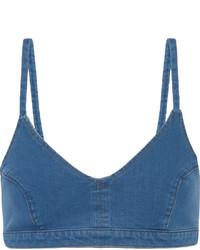 Top de Bikini Azul de J Brand