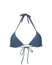 Top de bikini azul de Lygia & Nanny