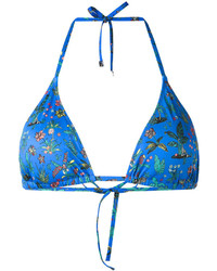 Top de bikini azul de Paul Smith