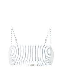 Top de bikini blanco de Suboo