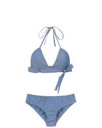 Top de bikini celeste de Adriana Degreas