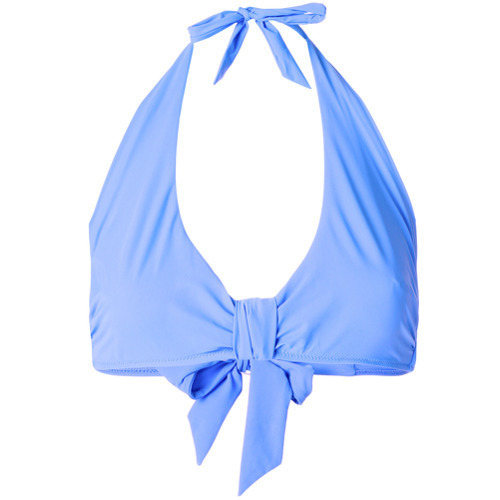 Top de bikini celeste de Heidi Klein