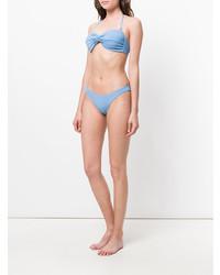 Top de bikini celeste de Mara Hoffman