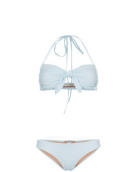 Top de bikini celeste de Three Graces