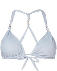 Top de bikini celeste de Vix