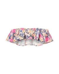 Top de Bikini con print de flores Rosado de Ivyrevel