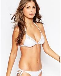 Top de Bikini de Crochet Blanco de Pour Moi?