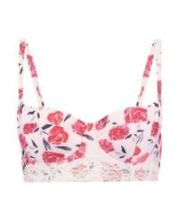 Top de Bikini de Flores Multicolor de mint&berry
