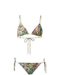 Top de bikini en multicolor de Etro