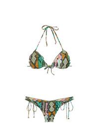 Top de bikini en multicolor de Lygia & Nanny
