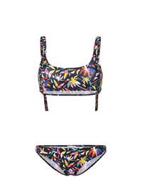 Top de bikini en multicolor de Tomas Maier