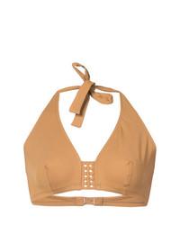 Top de bikini marrón claro de Eres