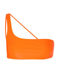 Top de bikini naranja de Jade Swim
