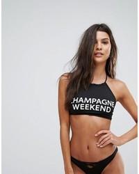 Top de bikini negro de Chaser