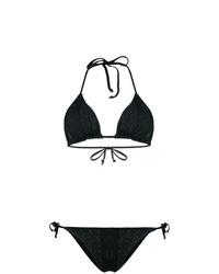 Top de bikini negro de Fisico