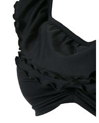 Top de bikini negro de La Reveche