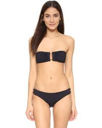 Top de bikini negro de Proenza Schouler
