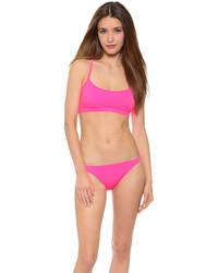 Top de bikini rosa de Milly