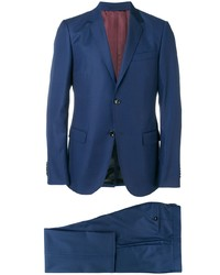 Traje azul marino de Gucci