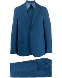 Traje azul de Valentino