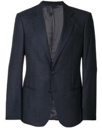 Traje de lana azul marino de Giorgio Armani