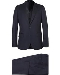 Traje de lana azul marino de Paul Smith