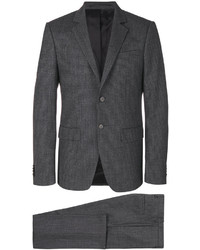 Traje de lana en gris oscuro de Givenchy
