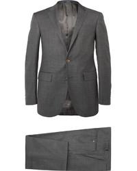 Traje de lana en gris oscuro de Polo Ralph Lauren