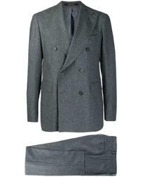 Traje de lana en gris oscuro de Tagliatore