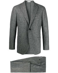 Traje de lana gris de Boglioli