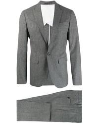 Traje de lana gris de DSQUARED2