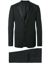 Traje de lana negro de Armani Collezioni