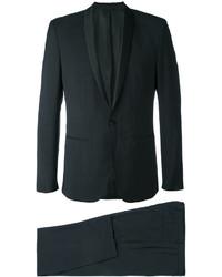 Traje de lana negro de Calvin Klein