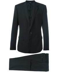 Traje de lana negro de Dolce & Gabbana