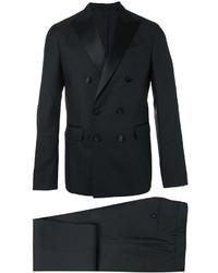 Traje de lana negro de DSQUARED2