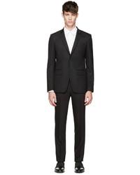 Traje de lana negro de Givenchy