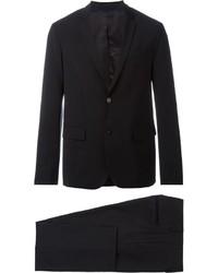 Traje de lana negro de Paolo Pecora