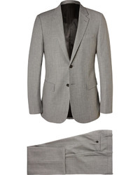 Traje gris de Balenciaga