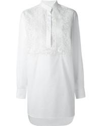 Túnica de encaje blanca de Valentino